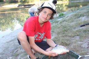 colonie de vacances pêche à la ligne