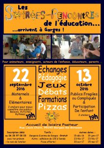 affiche formations Garges