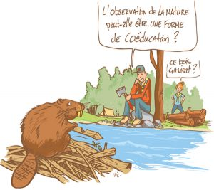 dessin coeducation